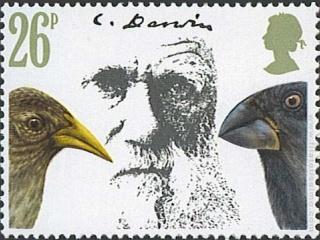 Colecionar-selos-sobre-Darwin-e-seu-universo